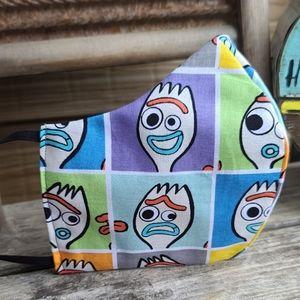 Disney Forky Toy Story Adult Face Mask